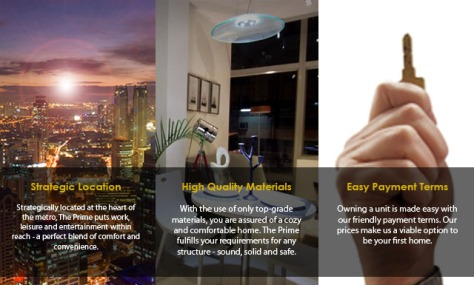 ortigas condo kapitolyo rent to own the prime header
