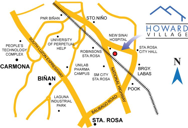 Howard Village In Sta Rosa Laguna By New Apec Development