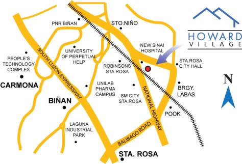 Howard Village Sta. Rosa Laguna House and Lot For Sale Pag-ibig Housing (10)