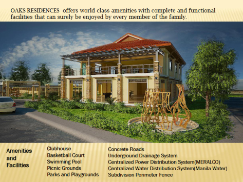 Oaks Residences House and Lot Townhouse Cainta Antipolo 003