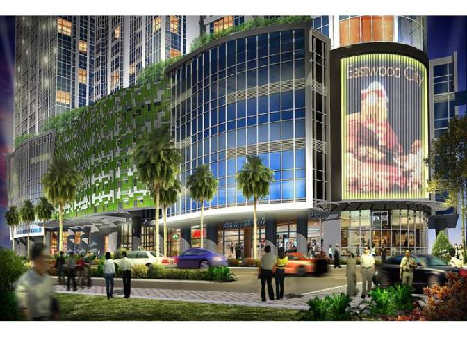 One Eastwood Avenue at Eastwood City in Libis Quezon City by Megaworld
