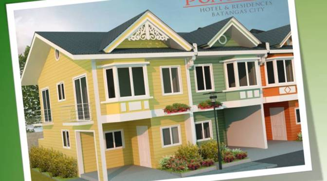 Pontefino Prime in Batangas City by Fino Property Ventures