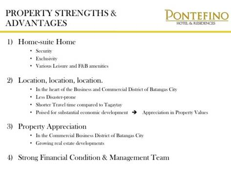 Pontefino Residences Condo Condotel House and Lot For Sale Batangas City Philippines 001 (71)