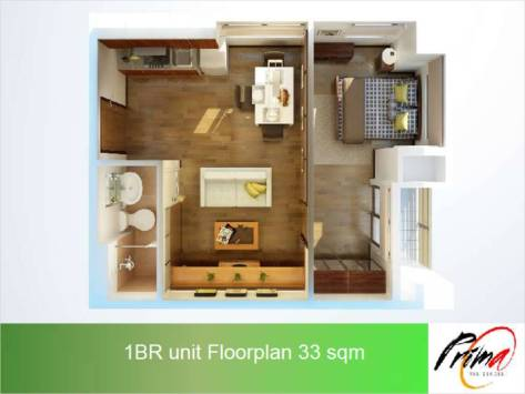 QC Prima Residences RFO Condo Ready For Occupancy Condo Near SM North Near Katipunan Near UP Diliman Quezon City (8)