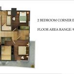 2 BEDROOM CORNER (EAST/SOUTH)
