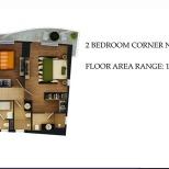 2 BEDROOM CORNER (NORTH)