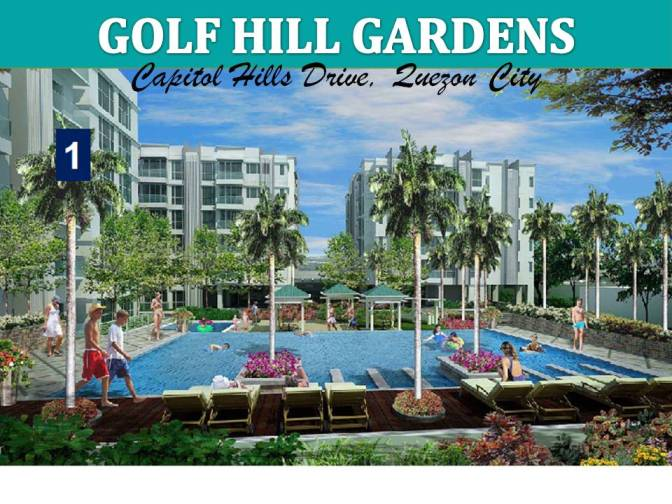 Golfhill Gardens at Capitol Hills Drive Quezon City by Megaworld