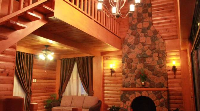 The Cedar Log House For Sale in Tagaytay