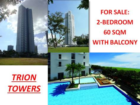 Taguig BGC RFO Condo as of Feb 2014 (5) Trion Towers
